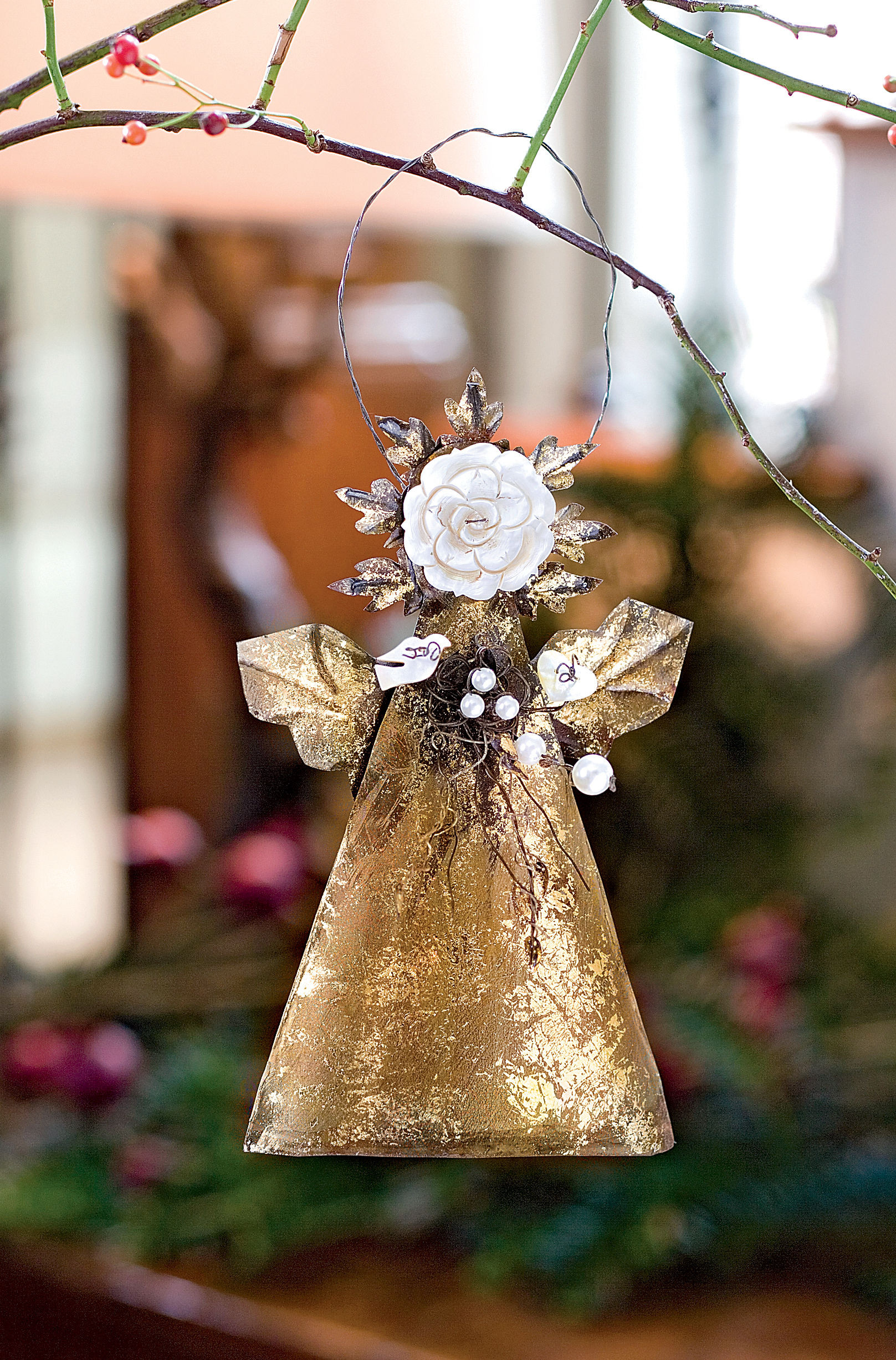 Angel Christmas ornaments Lovely Outdoor Christmas ornaments Hanging Ion solar Of Gorgeous 40 Photos Angel Christmas ornaments