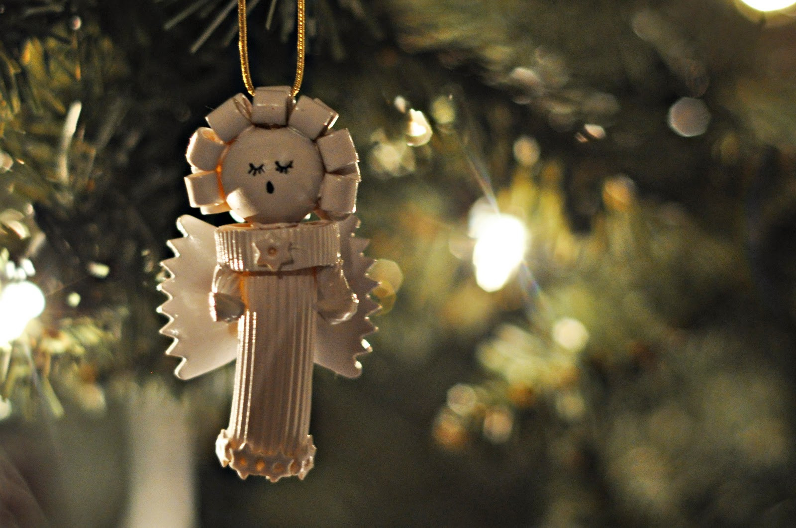 Angel Christmas ornaments Luxury Craftily Ever after Pasta Angel ornaments Of Gorgeous 40 Photos Angel Christmas ornaments