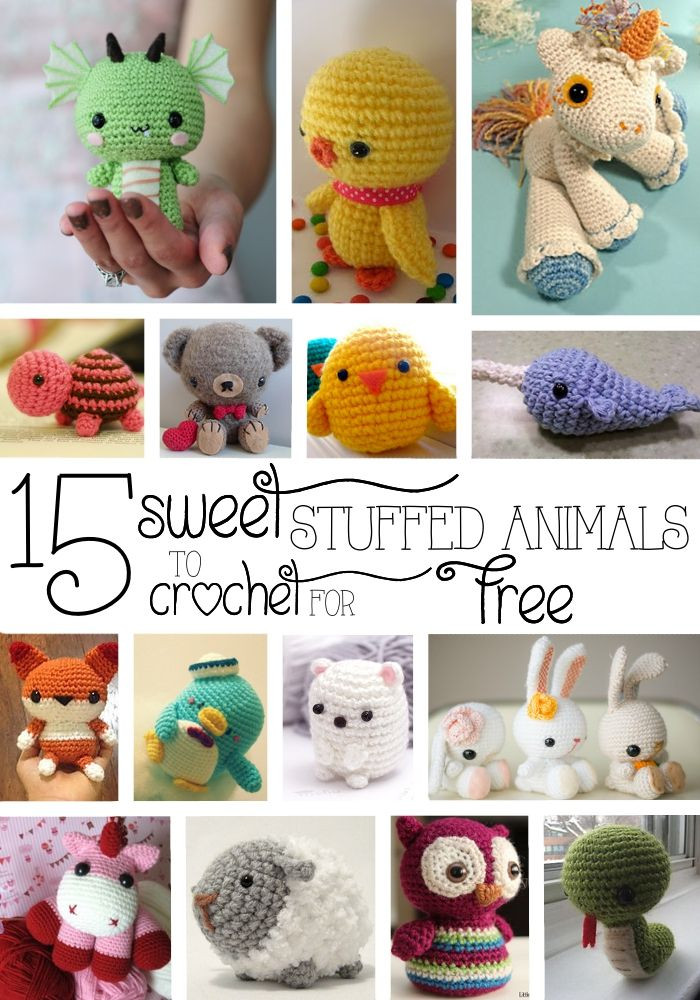 Animal Amigurumi to Crochet Awesome 25 Best Ideas About Crochet Stuffed Animals On Pinterest Of Top 47 Photos Animal Amigurumi to Crochet