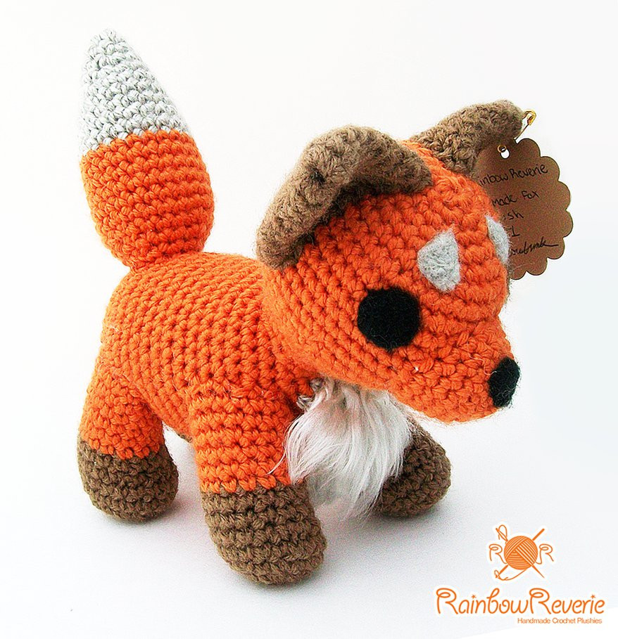 Animal Amigurumi to Crochet Awesome Amigurumi Fox by Rainbowreverie On Deviantart Of Top 47 Photos Animal Amigurumi to Crochet