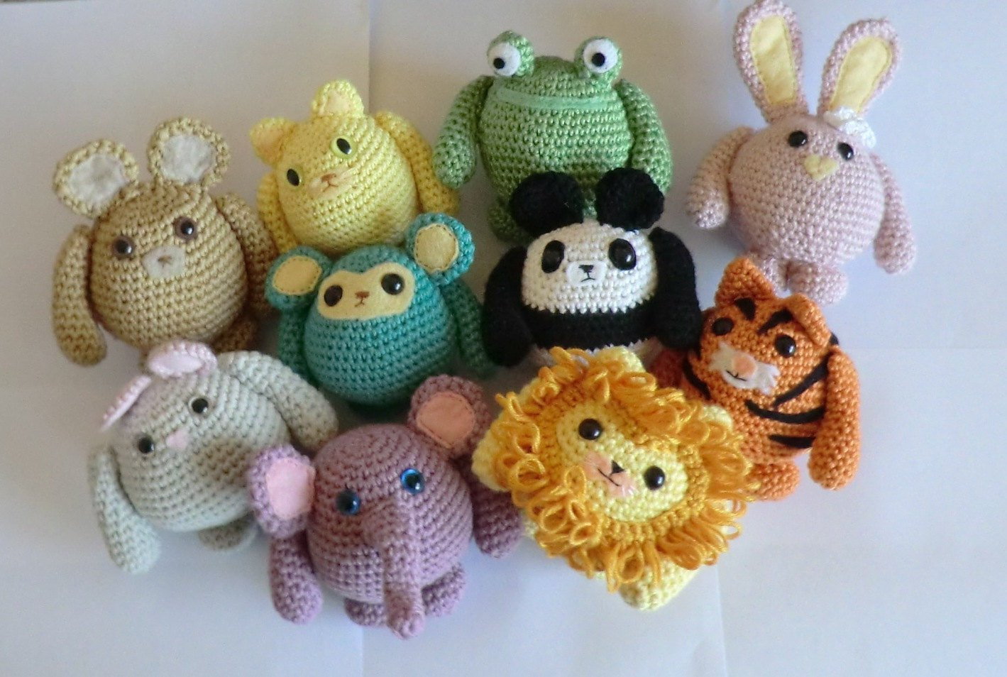 Animal Amigurumi to Crochet Awesome Fat Friends Animal Amigurumi Pdf Crochet Patterns All 10 Cat Of Top 47 Photos Animal Amigurumi to Crochet