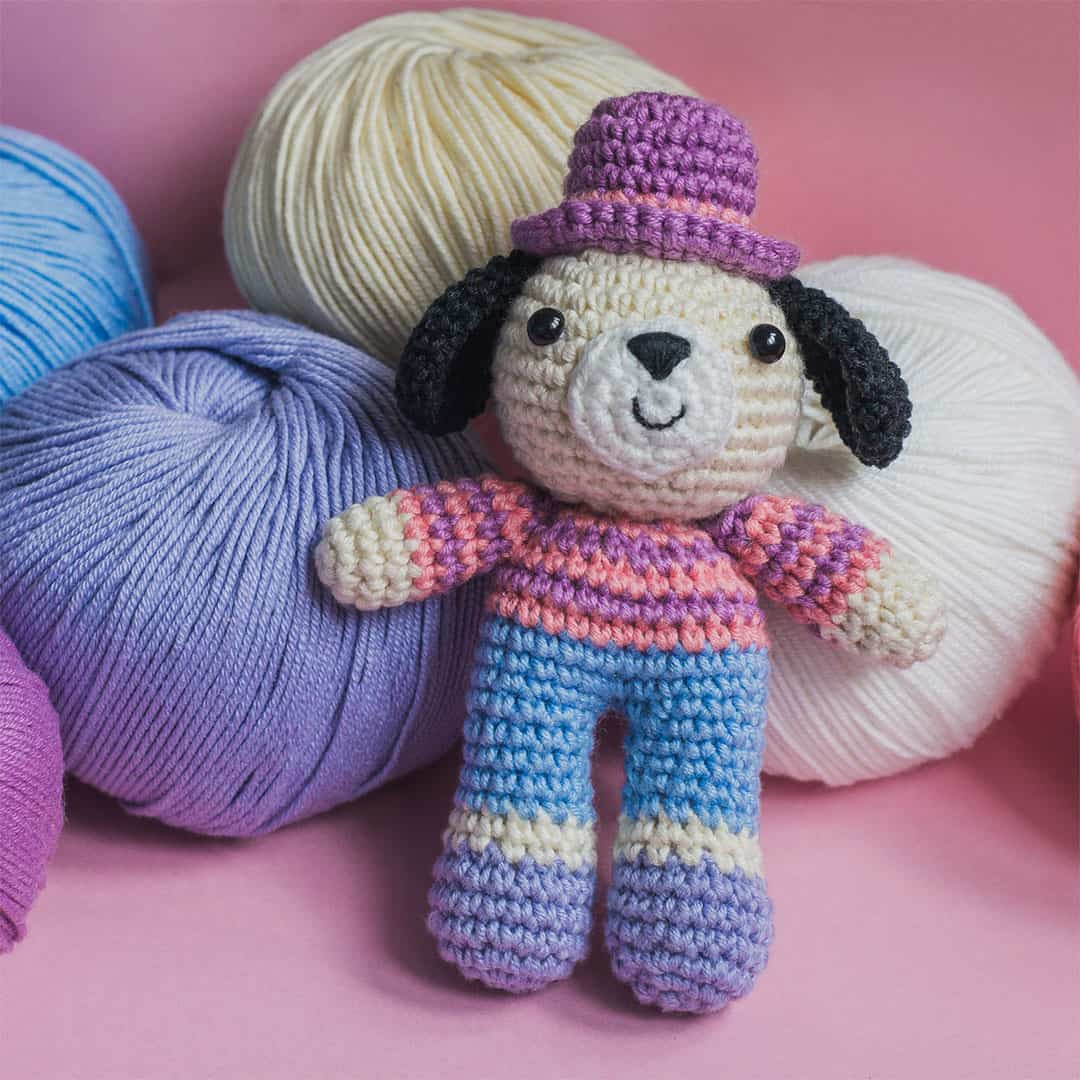 Charlie the Dog crochet pattern Amigurumi Today