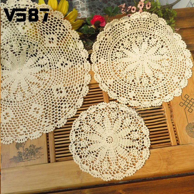 Antique Doilies Beautiful Line Buy wholesale Cotton Lace Doilies From China Cotton Of Wonderful 44 Models Antique Doilies