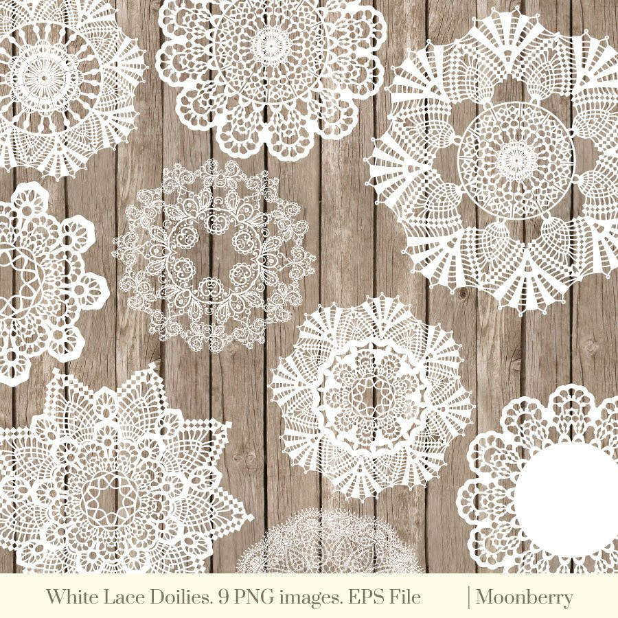"Antique Doilies Fresh Vintage Lace Doilies ""lace Doily"" Digital Clip Art Lace Of Wonderful 44 Models Antique Doilies"