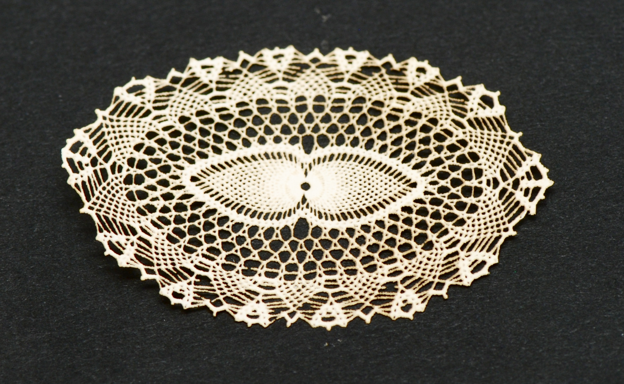 Antique Laser Cut Doily 71
