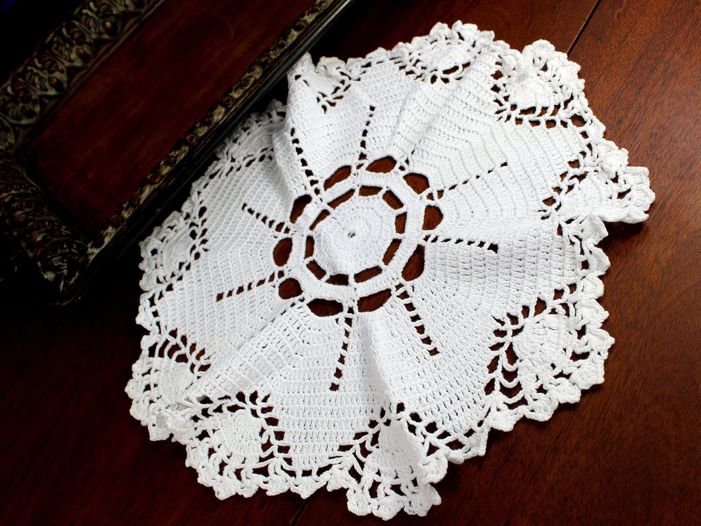Antique Doilies Luxury White Doily Vintage Crochet Doilies Crocheted Of Wonderful 44 Models Antique Doilies