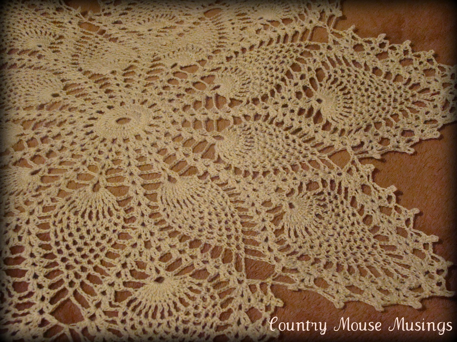Antique Doilies New Country Mouse Musings Vintage Pineapple Doily Pattern Set Of Wonderful 44 Models Antique Doilies