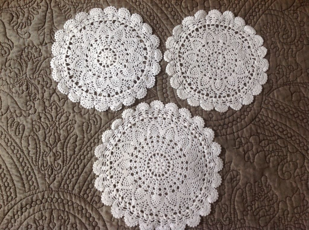 Antique Doilies New Vintage 3 Embroidery Crochet Lace Doily Antique Doilies Of Wonderful 44 Models Antique Doilies