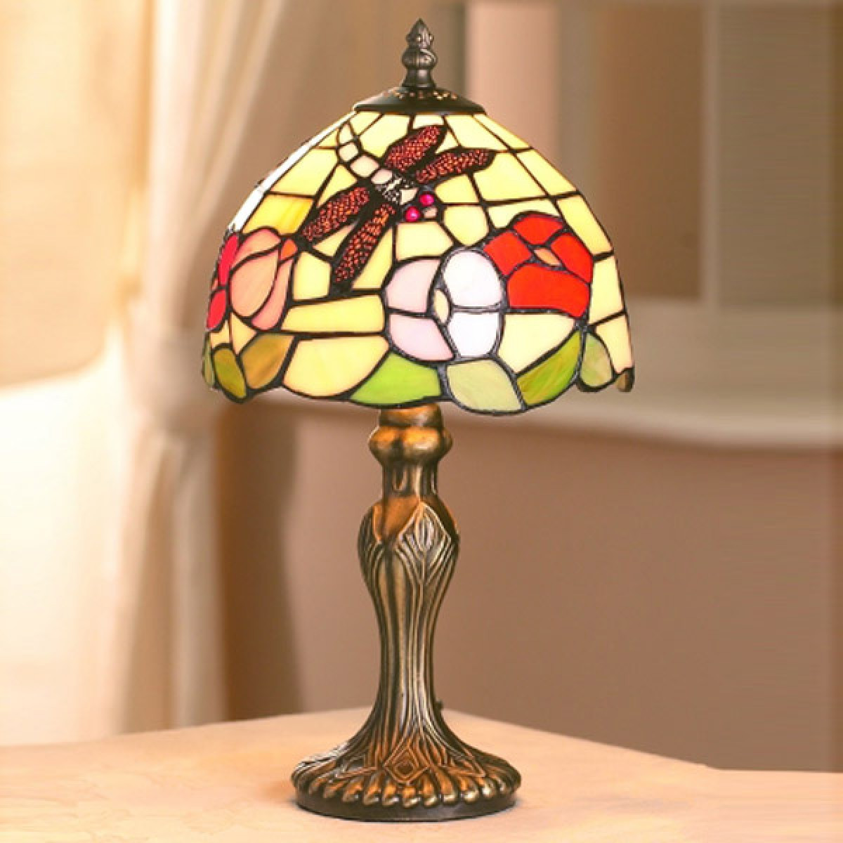 Antique Tiffany Lamps Awesome Tiffany Small Dragonfly Shade Antique Brass Table Lamp 20cms Of Amazing 47 Photos Antique Tiffany Lamps