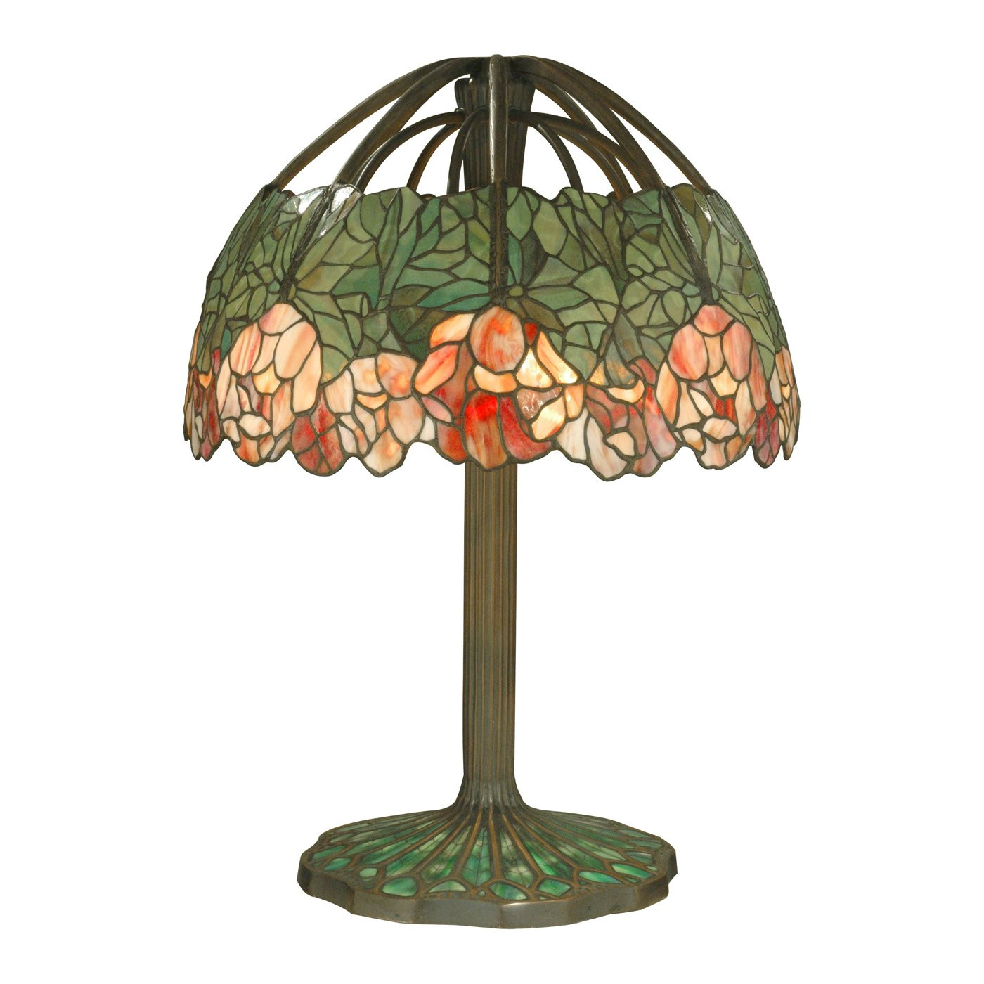 Antique Tiffany Lamps Beautiful Dale Tiffany Tt 6 Light Table Lamp Dark Antique Of Amazing 47 Photos Antique Tiffany Lamps