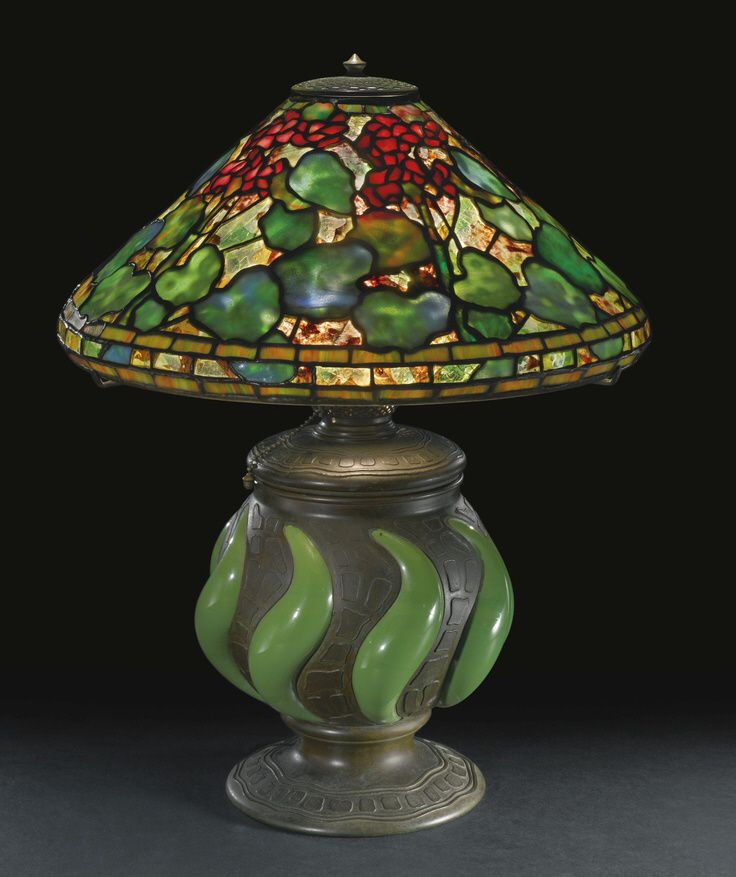 Antique Tiffany Lamps Inspirational 1000 Images About Tiffany Studios Table Lamp Examples On Of Amazing 47 Photos Antique Tiffany Lamps