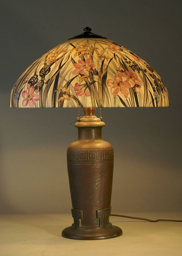 Antique Tiffany Lamps Lovely 217 Best Images About Reverse Painted Glass Lamps On Of Amazing 47 Photos Antique Tiffany Lamps
