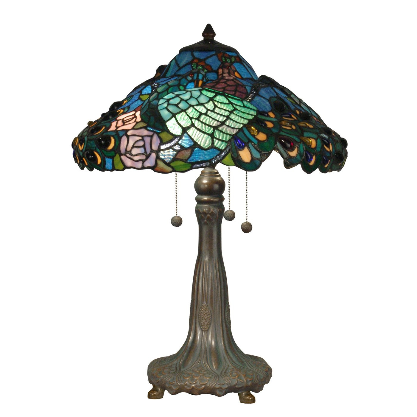 Antique Tiffany Lamps Lovely Dale Tiffany 3 Light Table Lamp Antique Bronze Of Amazing 47 Photos Antique Tiffany Lamps