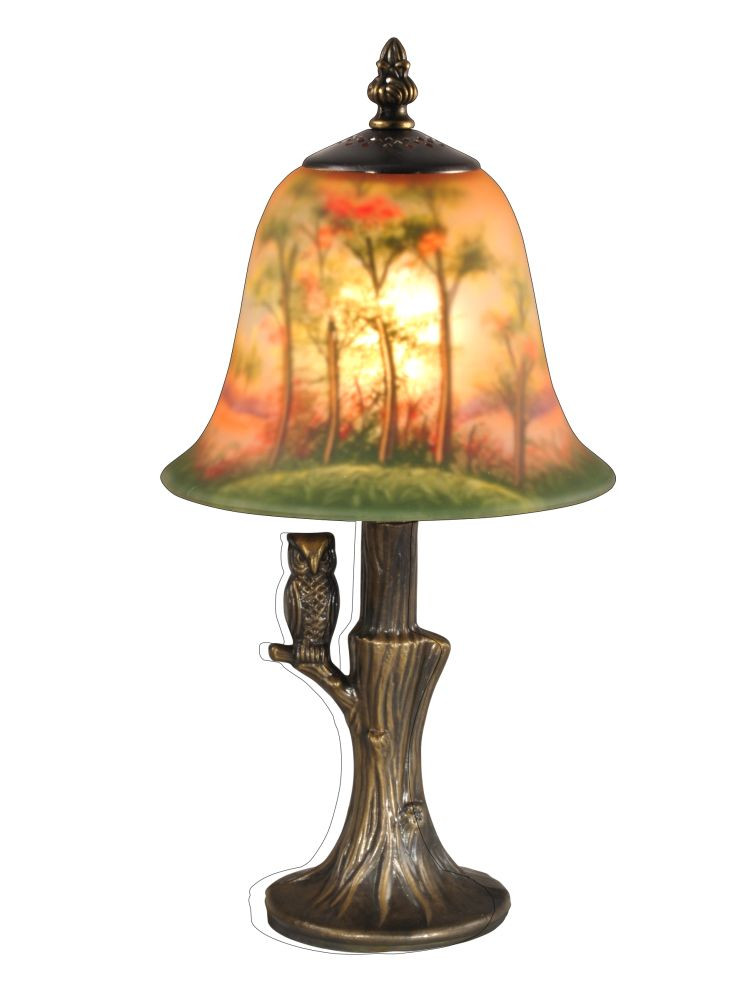 Antique Tiffany Lamps Lovely Dale Tiffany Ta Hand Painted with Owl Accent Lamp In Of Amazing 47 Photos Antique Tiffany Lamps