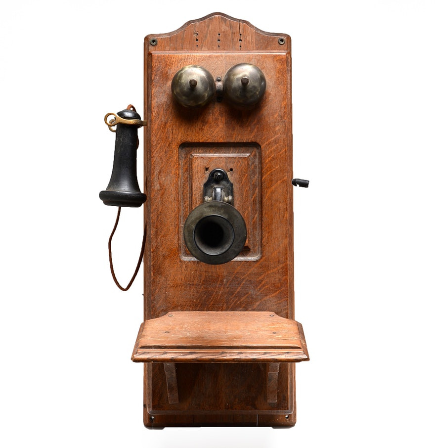 Antique Wall Phone Awesome Antique Stromberg Carlson Wall Mount Telephone Ebth Of Gorgeous 50 Ideas Antique Wall Phone