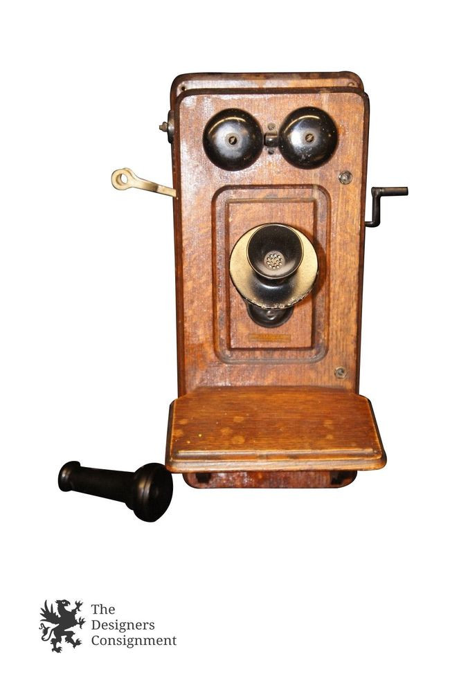 Antique Wall Phone Fresh Antique Kellogg Crank Wall Mount Telephone 1900s Of Gorgeous 50 Ideas Antique Wall Phone