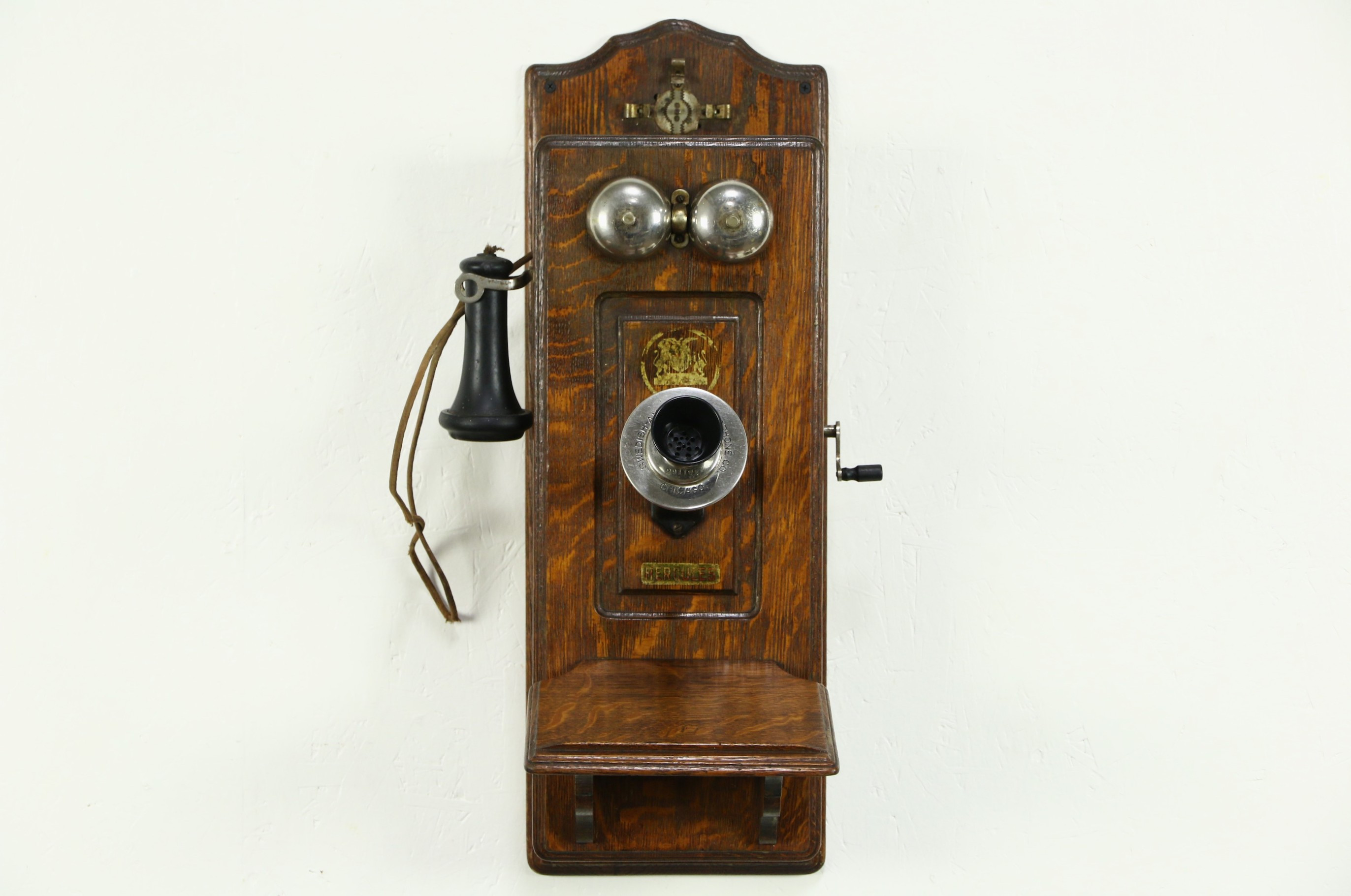 Antique Wall Phone Fresh sold Swedish American Hercules Signed Telephone Oak Of Gorgeous 50 Ideas Antique Wall Phone