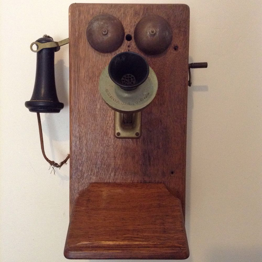 Antique Wall Phone Inspirational Antique Vintage Oak Wood Bakelite Wall Telephone Hand Of Gorgeous 50 Ideas Antique Wall Phone