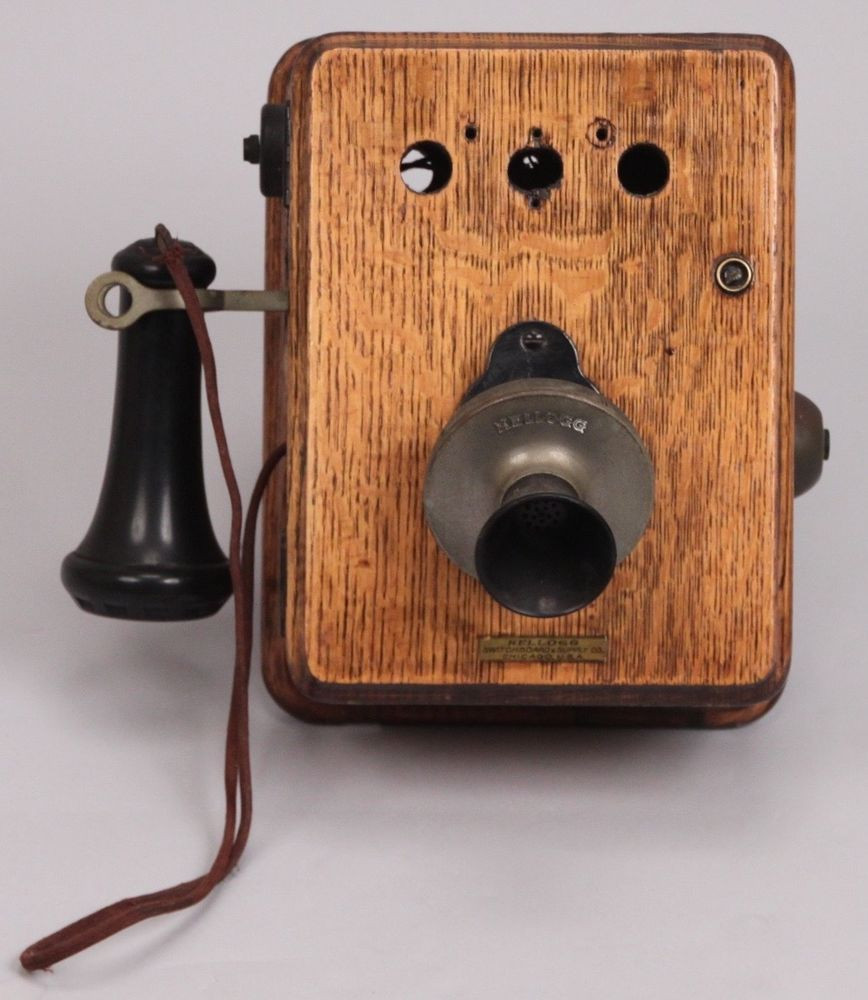 Antique Wall Phone Luxury Antique Kellogg Oak Wall Phone Telephone Code F 1809 Model Of Gorgeous 50 Ideas Antique Wall Phone