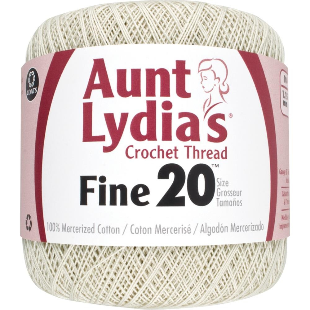Aunt Lydia's Crochet Thread Awesome Aunt Lydia S Crochet Cotton Fine Size 20 Best Price Of Charming 35 Models Aunt Lydia's Crochet Thread
