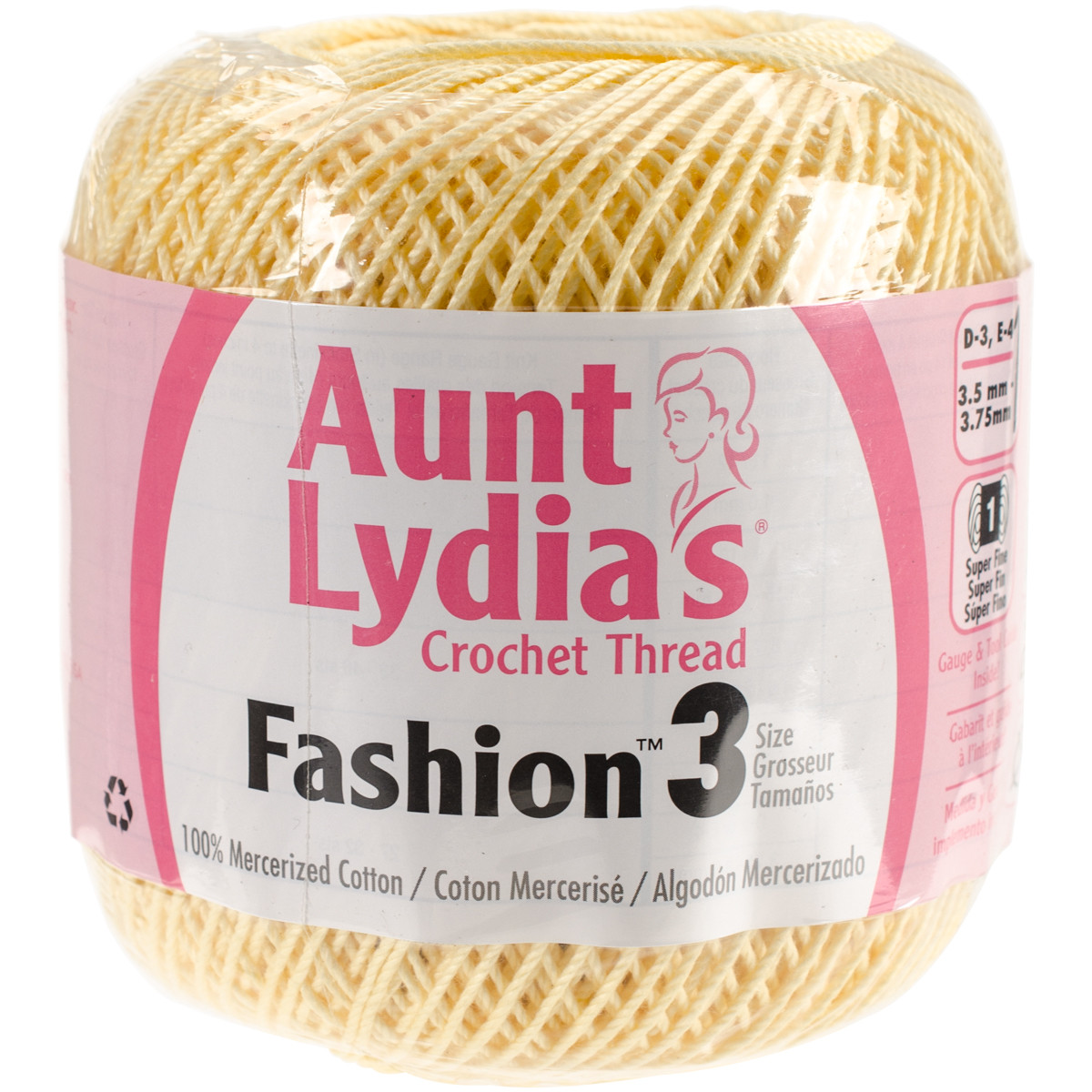 Aunt Lydia's Crochet Thread Awesome Aunt Lydia S Fashion Crochet Thread Size 3 Maize Of Charming 35 Models Aunt Lydia's Crochet Thread