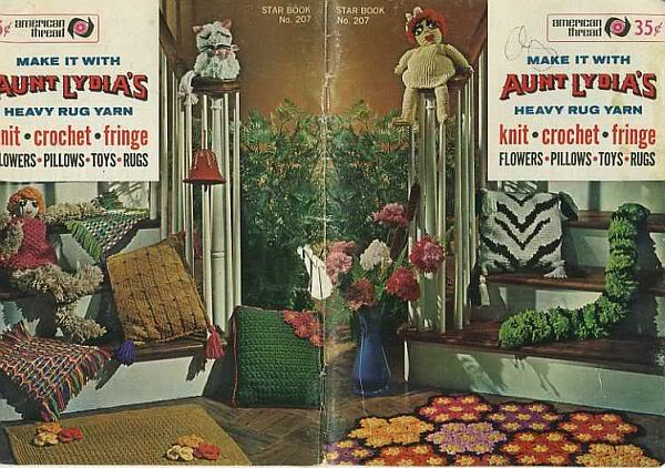 Aunt Lydia's Crochet Thread Best Of Aunt Lydia S Rug Yarn Craft Bazaar Pattern Booklet Lot Of Charming 35 Models Aunt Lydia's Crochet Thread