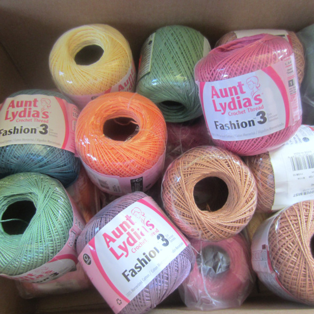 Aunt Lydia's Crochet Thread Size 3 Awesome New Stash New Project Aunt Lydia's Fashion 3 Of Attractive 22 Photos Aunt Lydia's Crochet Thread Size 3