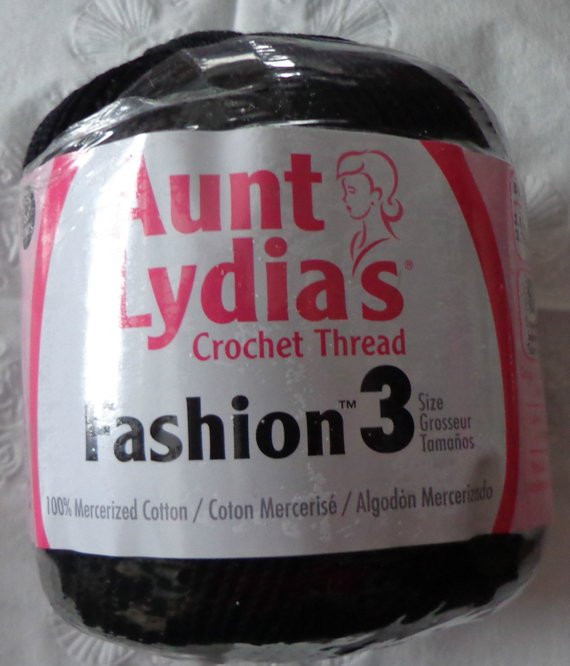 Aunt Lydia's Crochet Thread Size 3 Lovely Items Similar to Aunt Lydia S Fashion Crochet Thread Size Of Attractive 22 Photos Aunt Lydia's Crochet Thread Size 3