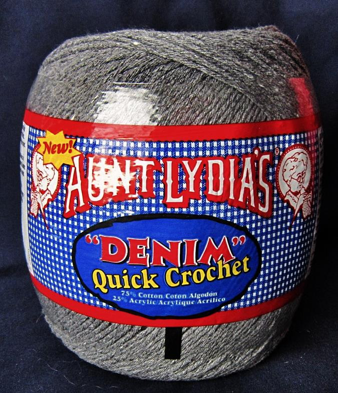 Aunt Lydia's Yarn Best Of Aunt Lydia S Denim Grey Cotton Acrylic Crochet Thread Of New 44 Photos Aunt Lydia's Yarn