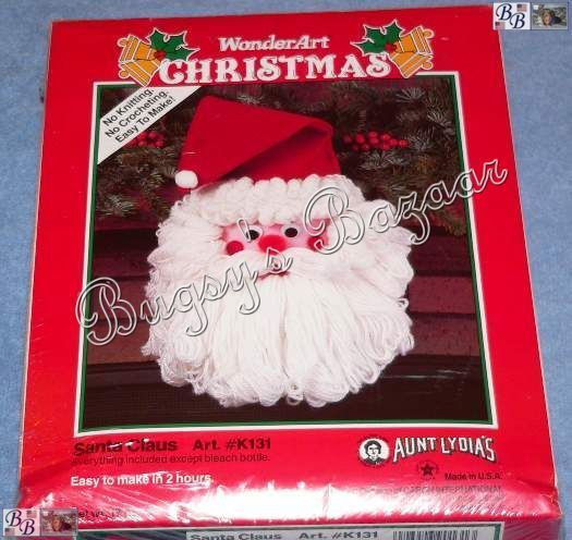 Aunt Lydia's Yarn Lovely Wonder Art Santa Claus Wall Hanging Christmas Felt Aunt Of New 44 Photos Aunt Lydia's Yarn