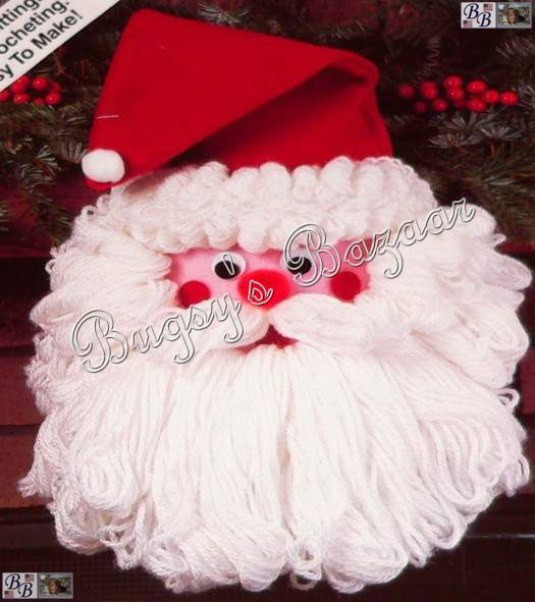 Aunt Lydia's Yarn New Wonder Art Santa Claus Wall Hanging Christmas Felt Aunt Of New 44 Photos Aunt Lydia's Yarn