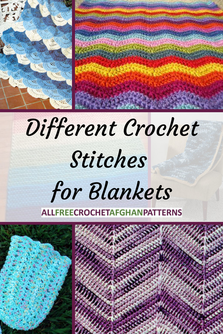 Awesome 10 Different Crochet Stitches for Blankets List Of Crochet Stitches Of Amazing 49 Pics List Of Crochet Stitches