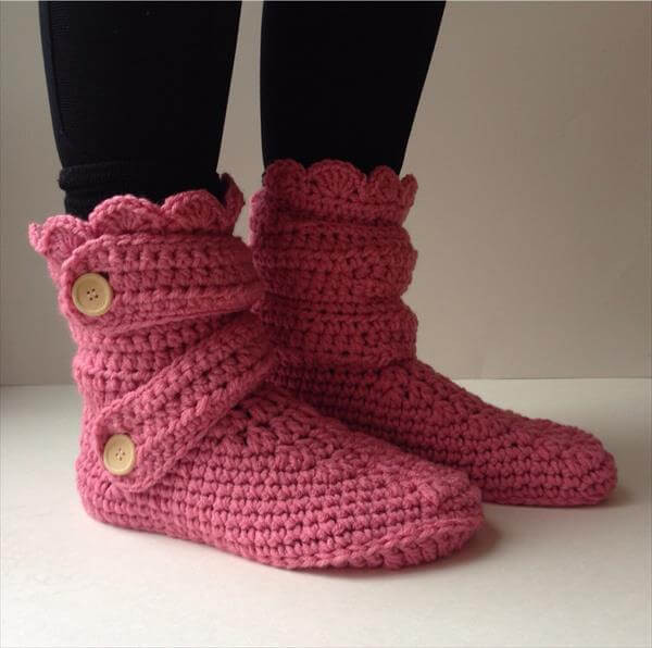 Awesome 10 Diy Free Patterns for Crochet Slipper Boots Crochet Boot Of Awesome 46 Photos Crochet Boot