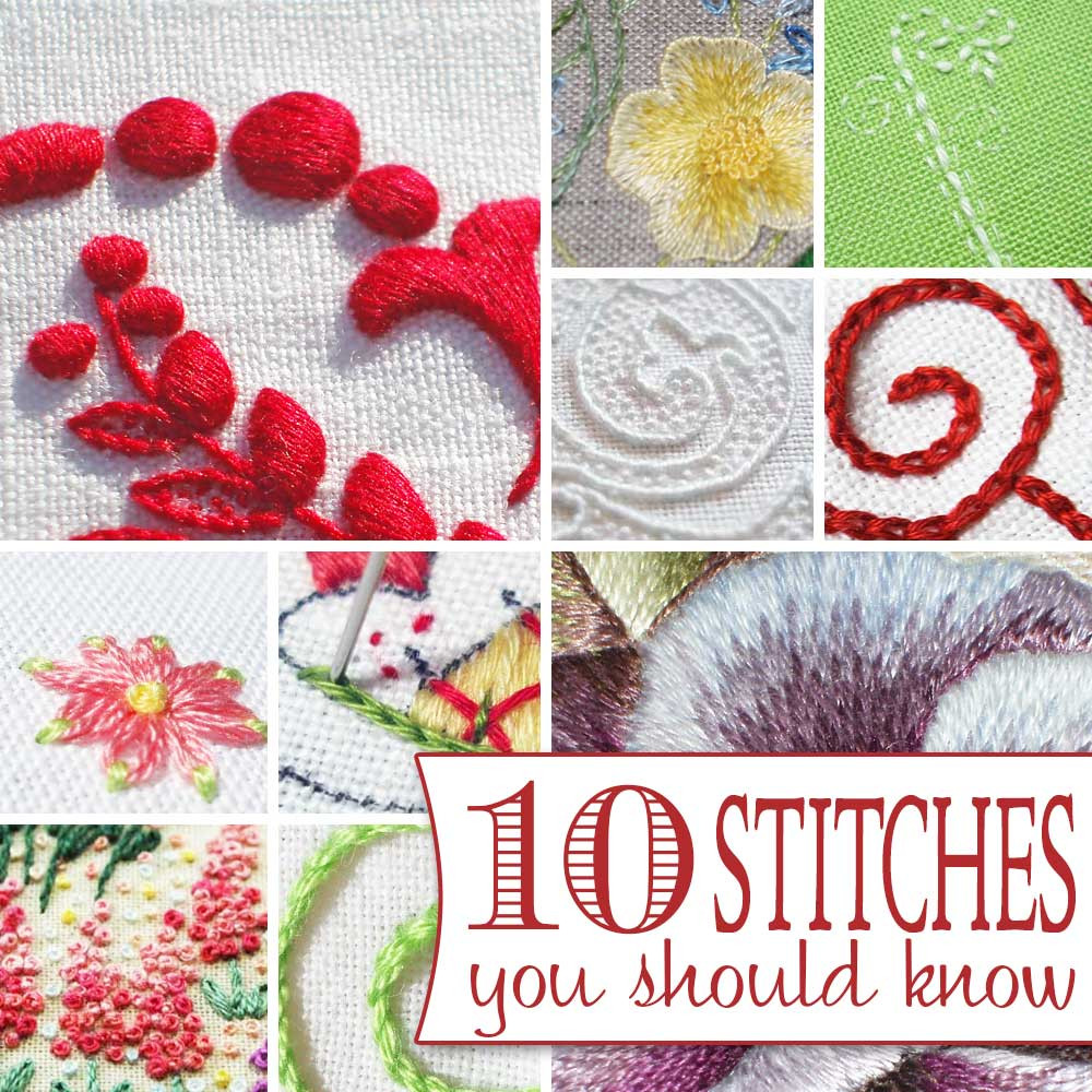 Awesome 10 Hand Embroidery Stitches You Should Know Hand Embroidery Kits Beginners Of Gorgeous 45 Photos Hand Embroidery Kits Beginners
