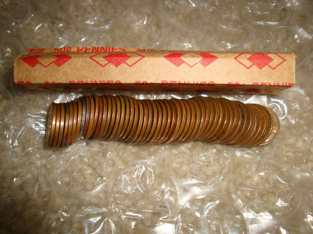 Awesome 100 Unsearched Wheat Penny Rolls Small Cents Us Coins Set Wheat Penny Rolls Of Awesome 43 Photos Wheat Penny Rolls