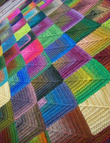 Awesome 1000 Images About Bed Throws and Knee Rugs On Pinterest Knitted Square Patterns Of Lovely 50 Models Knitted Square Patterns