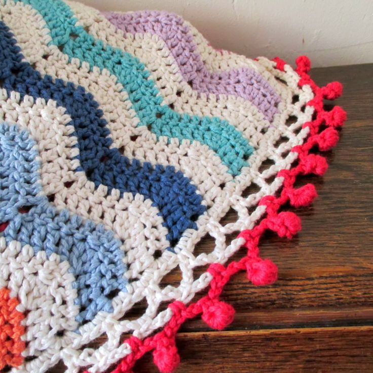 Awesome 1000 Images About Ripple Blanket Edging On Pinterest Blanket Edging Of Great 41 Pics Blanket Edging