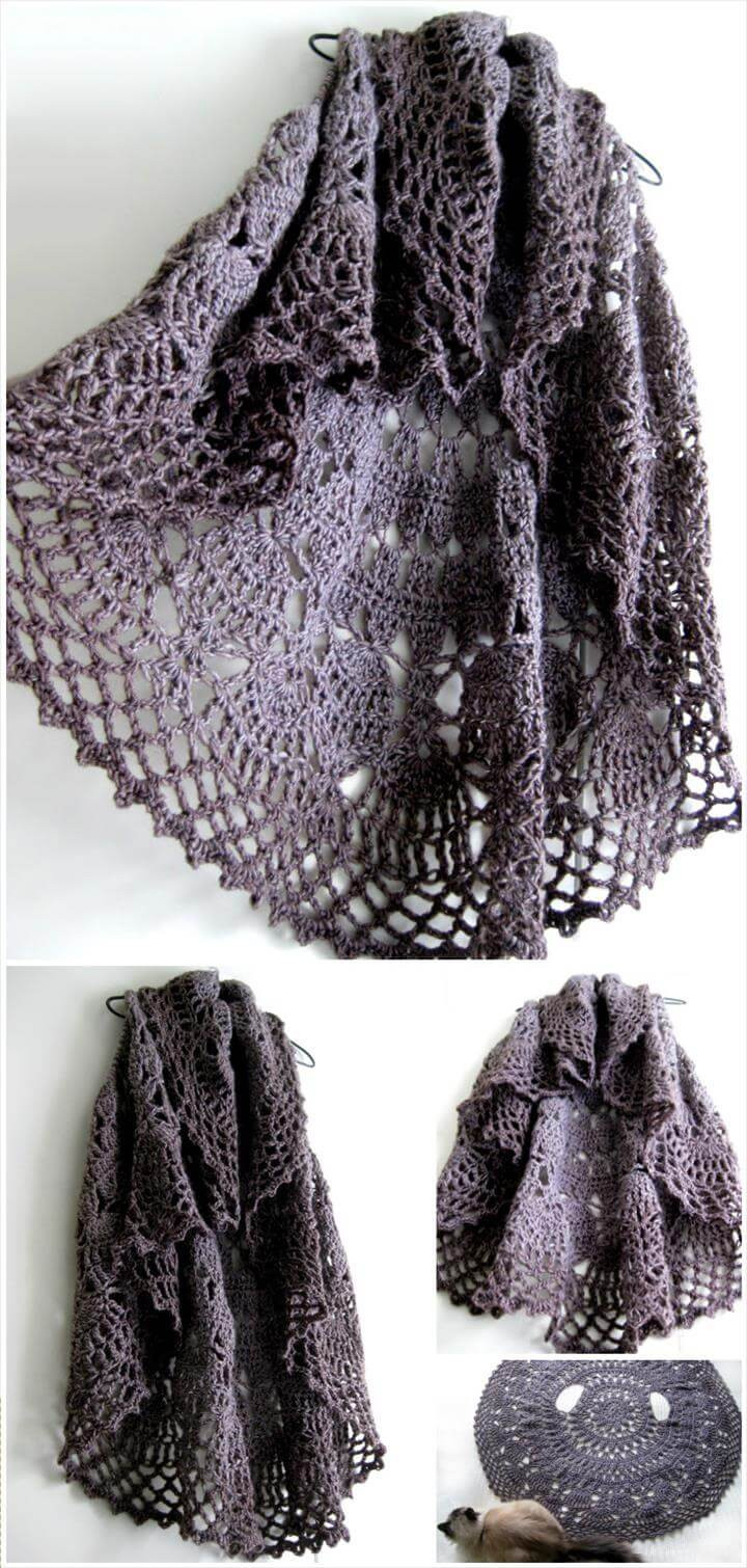 Awesome 12 Free Crochet Patterns for Circular Vest Jacket Crochet Circular Vest Of Delightful 46 Models Crochet Circular Vest