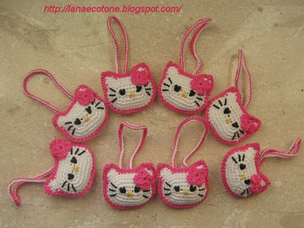 Awesome 12 Free Hello Kitty Crochet Patterns Inspired Crochet Keychains Of Fresh 49 Ideas Crochet Keychains