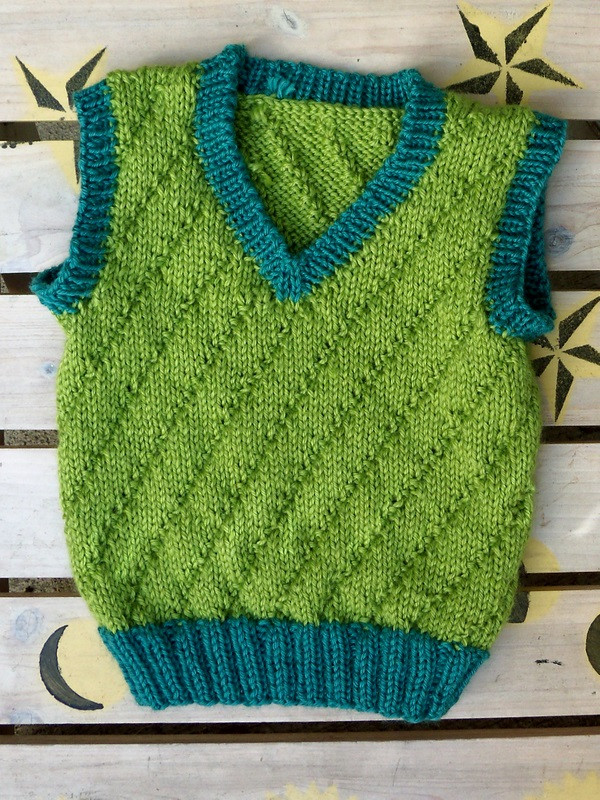 Awesome 12 Free Knitting Patterns for Babies Growingslower Free Knitted Vest Patterns Of Adorable 39 Photos Free Knitted Vest Patterns