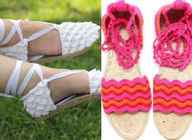 Awesome 12 Smart and Trendy Espadrilles – Make the Best Of This Trend Crochet Espadrille Of Lovely 49 Images Crochet Espadrille