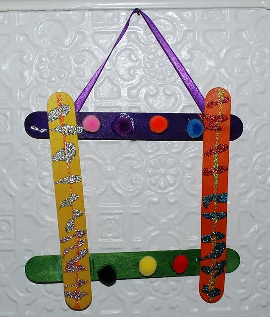 Awesome 127 Best Images About Craft Stick Crafts On Pinterest Picture Frame Crafts for Kids Of Adorable 48 Models Picture Frame Crafts for Kids