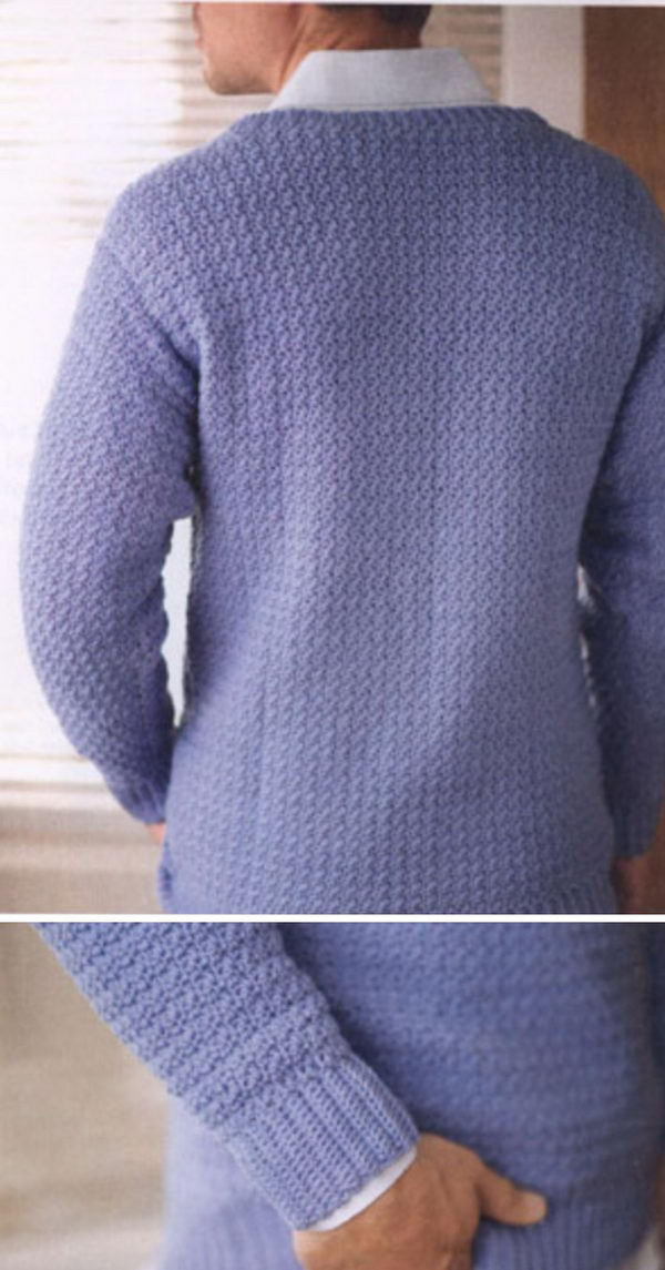 Awesome 15 Crochet Men Sweater Patterns 2017 Crochet Mens Sweater Of Attractive 49 Pictures Crochet Mens Sweater