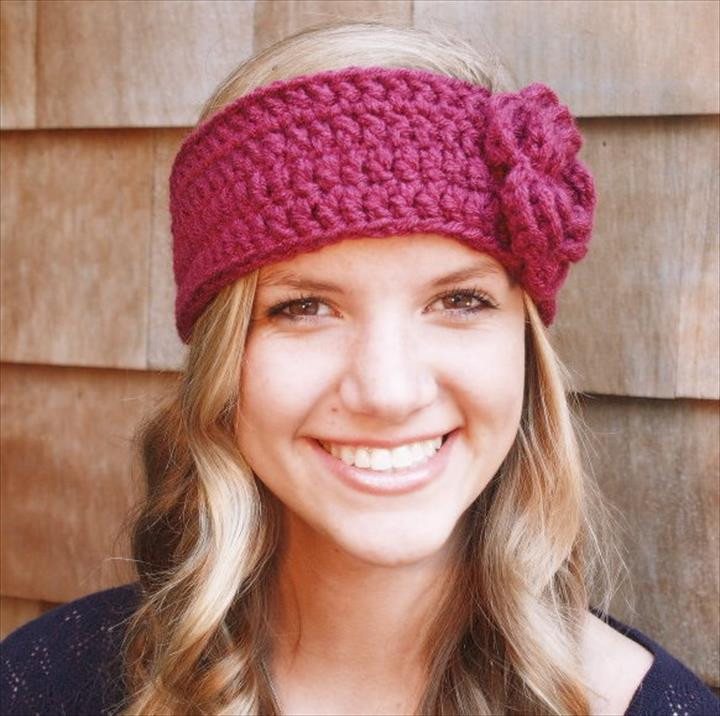 Awesome 15 Easy Crochet Headband with Flowers Crochet Bands Of Adorable 46 Pics Crochet Bands