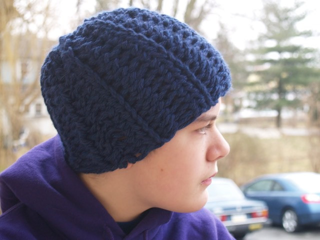 Awesome 15 Incredibly Handsome Winter Hats for Men to Knit or Crochet Mens Crochet Hat Pattern Of Charming 48 Ideas Mens Crochet Hat Pattern