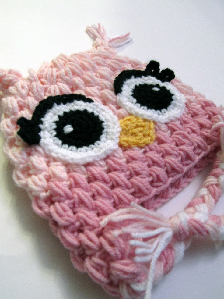 Awesome 1567 Best Images About Crocheted Childrens Hats and Photo Crochet Owl Hat Of Marvelous 48 Images Crochet Owl Hat