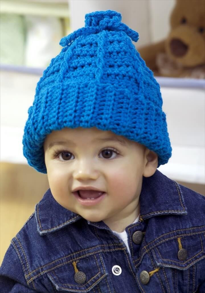 Awesome 16 Easy Crochet Hats for Kid S Crochet Childrens Hat Of Lovely 44 Images Crochet Childrens Hat