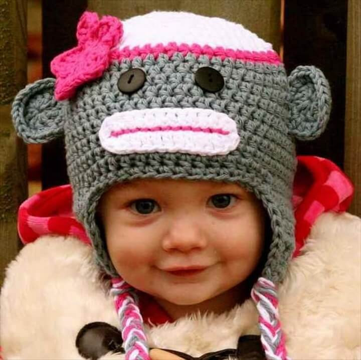 Awesome 16 Easy Crochet Hats for Kid S Crochet Flower for Baby Hat Of Beautiful 42 Ideas Crochet Flower for Baby Hat