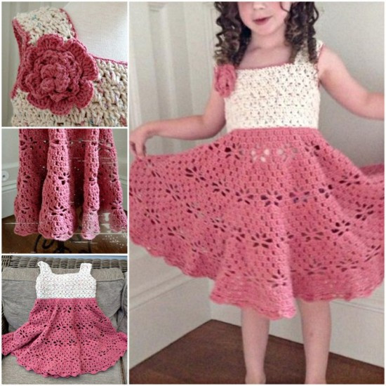 Awesome 16 Patterns for Cute Crochet Girls Dresses Crochet for Girls Of Marvelous 40 Pics Crochet for Girls