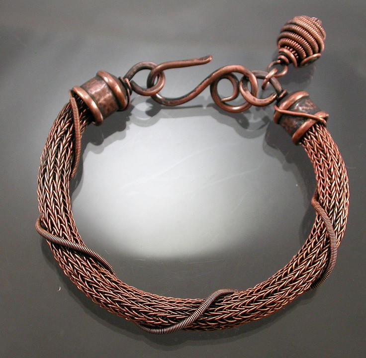 Awesome 161 Best Images About Wire Viking Knit On Pinterest Knitted Bracelet Of Brilliant 50 Models Knitted Bracelet